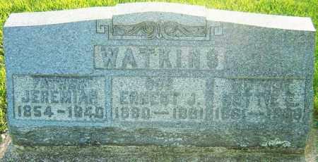 WELLER WATKINS, NELLIE - Montgomery County, Ohio   NELLIE WELLER WATKINS - Ohio Gravestone Photos