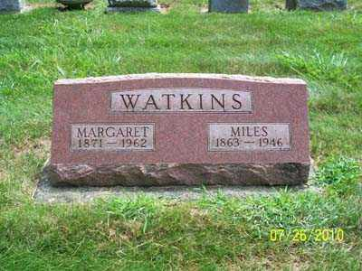 WATKINS, MILES - Montgomery County, Ohio   MILES WATKINS - Ohio Gravestone Photos