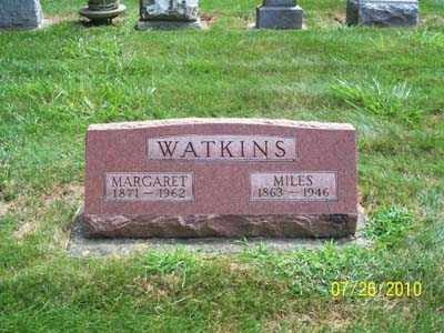MCCOULLOUGH WATKINS, MARGARET A - Montgomery County, Ohio   MARGARET A MCCOULLOUGH WATKINS - Ohio Gravestone Photos