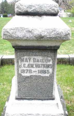 WATKINS, MAY - Montgomery County, Ohio | MAY WATKINS - Ohio Gravestone Photos