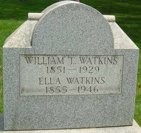 WATKINS, LAURA LUELLA - Montgomery County, Ohio | LAURA LUELLA WATKINS - Ohio Gravestone Photos
