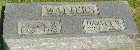 WATTERS, HARVEY W - Montgomery County, Ohio   HARVEY W WATTERS - Ohio Gravestone Photos