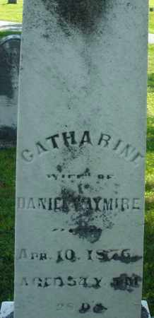 WAYMIRE, CATHARINE - Montgomery County, Ohio   CATHARINE WAYMIRE - Ohio Gravestone Photos