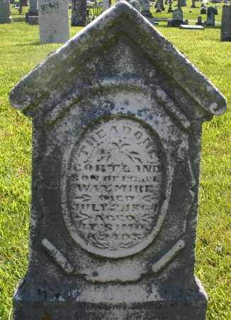 WAYMIRE, THEADORE CORTLAND - Montgomery County, Ohio | THEADORE CORTLAND WAYMIRE - Ohio Gravestone Photos