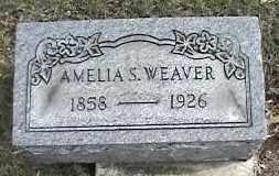 WEAVER, AMELIA S. - Montgomery County, Ohio | AMELIA S. WEAVER - Ohio Gravestone Photos