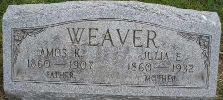 WEAVER, AMOS K. - Montgomery County, Ohio | AMOS K. WEAVER - Ohio Gravestone Photos