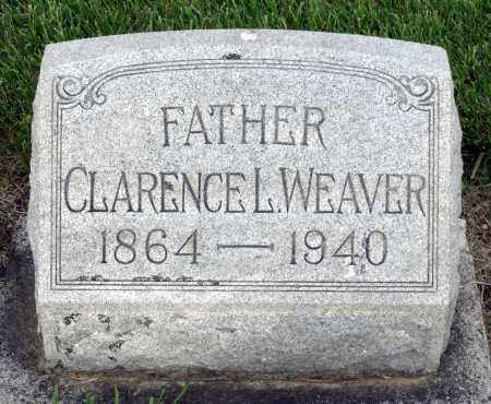 WEAVER, CLARENCE L. - Montgomery County, Ohio | CLARENCE L. WEAVER - Ohio Gravestone Photos