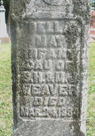 WEAVER, DELLA MAY - Montgomery County, Ohio   DELLA MAY WEAVER - Ohio Gravestone Photos
