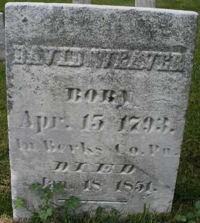 WEAVER, DAVID - Montgomery County, Ohio | DAVID WEAVER - Ohio Gravestone Photos