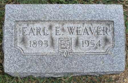 WEAVER, EARL E. - Montgomery County, Ohio   EARL E. WEAVER - Ohio Gravestone Photos