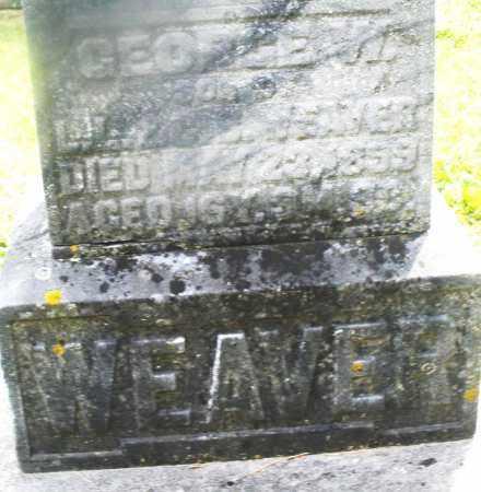 WEAVER, GEORGE W. - Montgomery County, Ohio | GEORGE W. WEAVER - Ohio Gravestone Photos