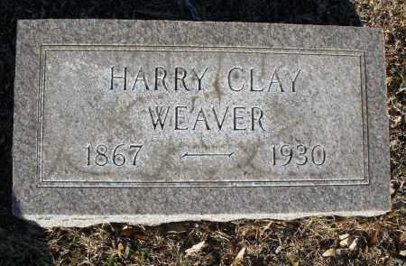 WEAVER, HARRY CLAY - Montgomery County, Ohio | HARRY CLAY WEAVER - Ohio Gravestone Photos