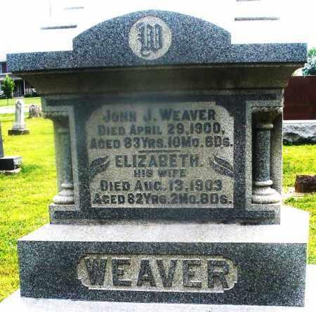 WEAVER, JOHN J. - Montgomery County, Ohio | JOHN J. WEAVER - Ohio Gravestone Photos