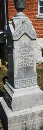 WEAVER, JOHN I. - Montgomery County, Ohio | JOHN I. WEAVER - Ohio Gravestone Photos