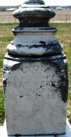 WEAVER, LYDIA - Montgomery County, Ohio   LYDIA WEAVER - Ohio Gravestone Photos
