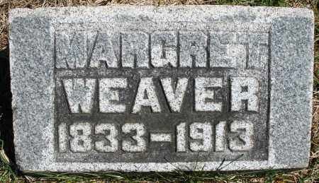 WEAVER, MARGARET - Montgomery County, Ohio | MARGARET WEAVER - Ohio Gravestone Photos