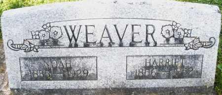 WEAVER, NOAH - Montgomery County, Ohio | NOAH WEAVER - Ohio Gravestone Photos