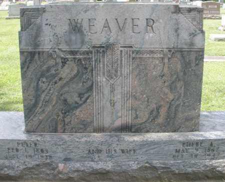 WEAVER, PETER - Montgomery County, Ohio | PETER WEAVER - Ohio Gravestone Photos