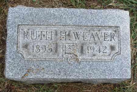 WEAVER, RUTH H. - Montgomery County, Ohio | RUTH H. WEAVER - Ohio Gravestone Photos