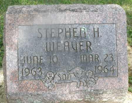 WEAVER, STEPHEN H. - Montgomery County, Ohio   STEPHEN H. WEAVER - Ohio Gravestone Photos