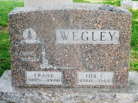 WEGLEY, FRANK - Montgomery County, Ohio | FRANK WEGLEY - Ohio Gravestone Photos