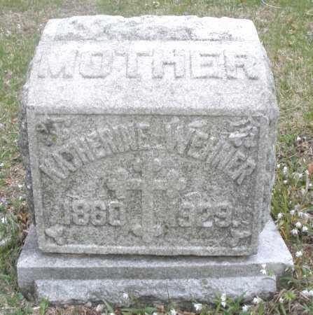 WEHNER, KATHERINE - Montgomery County, Ohio | KATHERINE WEHNER - Ohio Gravestone Photos