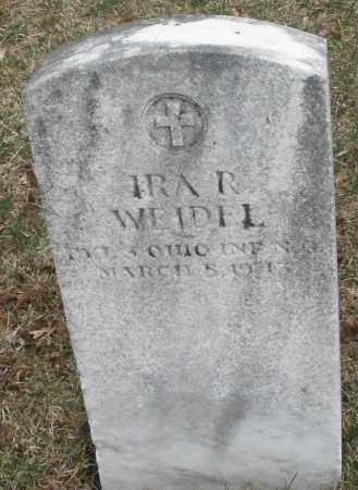 WEIDEL, IRA R. - Montgomery County, Ohio | IRA R. WEIDEL - Ohio Gravestone Photos