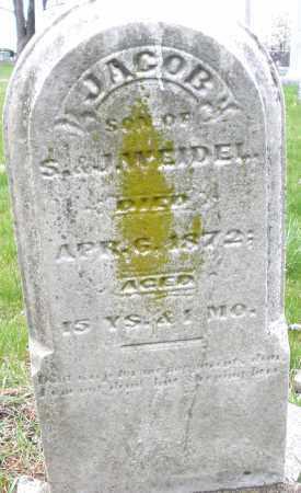 WEIDEL, JACOB - Montgomery County, Ohio | JACOB WEIDEL - Ohio Gravestone Photos