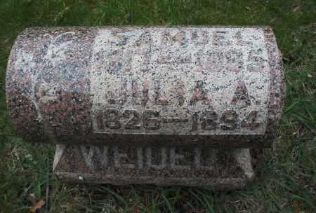 WEIDEL, JULIA A. - Montgomery County, Ohio | JULIA A. WEIDEL - Ohio Gravestone Photos