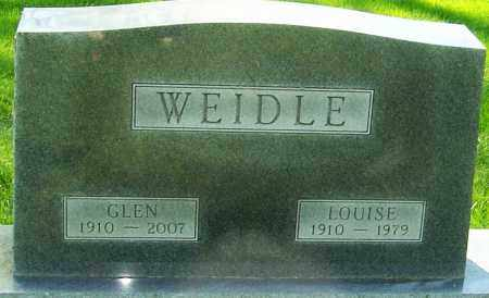 WEIDLE, LOUISE - Montgomery County, Ohio | LOUISE WEIDLE - Ohio Gravestone Photos