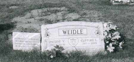 WEIDLE, CLIFFORD L. - Montgomery County, Ohio | CLIFFORD L. WEIDLE - Ohio Gravestone Photos