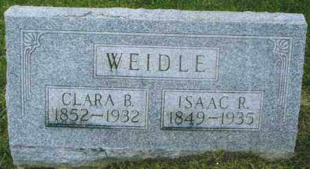 WEIDLE, CLARA BELLE - Montgomery County, Ohio | CLARA BELLE WEIDLE - Ohio Gravestone Photos