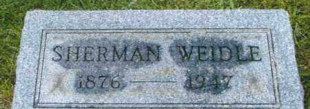 WEIDLE, ISAAC SHERMAN - Montgomery County, Ohio | ISAAC SHERMAN WEIDLE - Ohio Gravestone Photos