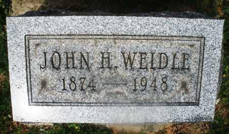 WEIDLE, JOHN H. - Montgomery County, Ohio | JOHN H. WEIDLE - Ohio Gravestone Photos