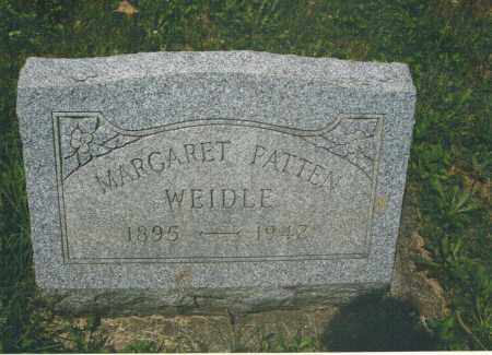 PATTEN WEIDLE, MARGARET - Montgomery County, Ohio | MARGARET PATTEN WEIDLE - Ohio Gravestone Photos