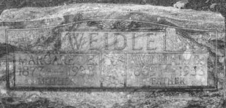 WEIDLE, MARGARET ELIZABETH - Montgomery County, Ohio   MARGARET ELIZABETH WEIDLE - Ohio Gravestone Photos