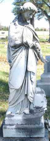 WEIDNER, CARRIE - Montgomery County, Ohio | CARRIE WEIDNER - Ohio Gravestone Photos