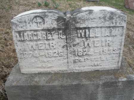 WEIR, WILLIAM - Montgomery County, Ohio | WILLIAM WEIR - Ohio Gravestone Photos