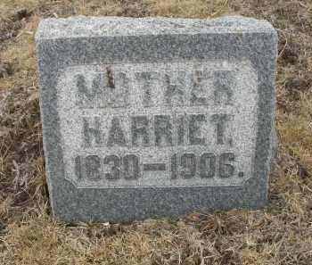 WEISER, HARRIET - Montgomery County, Ohio | HARRIET WEISER - Ohio Gravestone Photos