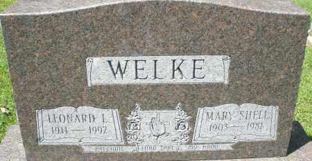 WELKE, MARY - Montgomery County, Ohio | MARY WELKE - Ohio Gravestone Photos