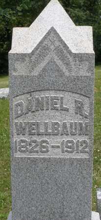 WELLBAUM, DANIEL R. - Montgomery County, Ohio   DANIEL R. WELLBAUM - Ohio Gravestone Photos