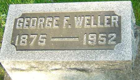 WELLER, GEORGE F - Montgomery County, Ohio | GEORGE F WELLER - Ohio Gravestone Photos