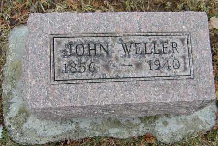 WELLER, JOHN - Montgomery County, Ohio   JOHN WELLER - Ohio Gravestone Photos