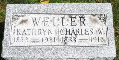 WELLER, CHARLES W. - Montgomery County, Ohio | CHARLES W. WELLER - Ohio Gravestone Photos