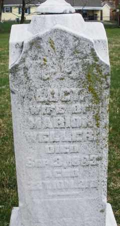 WELLER, LUCY - Montgomery County, Ohio   LUCY WELLER - Ohio Gravestone Photos