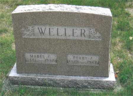 HIBBERD WELLER, MABEL - Montgomery County, Ohio | MABEL HIBBERD WELLER - Ohio Gravestone Photos