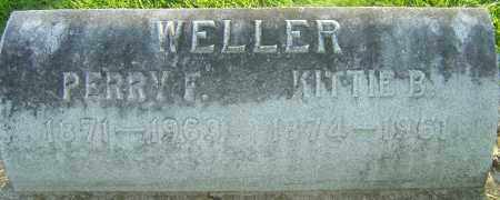WELLER, KITTIE - Montgomery County, Ohio | KITTIE WELLER - Ohio Gravestone Photos