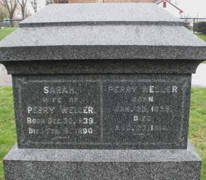 WELLER, PERRY - Montgomery County, Ohio | PERRY WELLER - Ohio Gravestone Photos