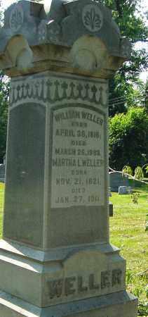 WELLER, MARTHA L - Montgomery County, Ohio | MARTHA L WELLER - Ohio Gravestone Photos