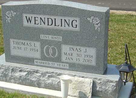 HUMERICK WENDLING, INAS J - Montgomery County, Ohio | INAS J HUMERICK WENDLING - Ohio Gravestone Photos
